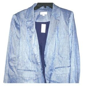 Loft Women's Chambray New Blazer